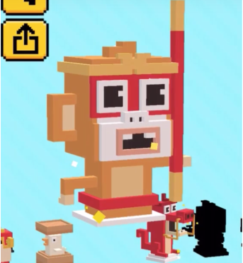 #14 Monkey King - Shooty Skies Secret Character