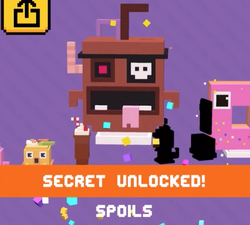 Spoils Shooty Skies Secret Character