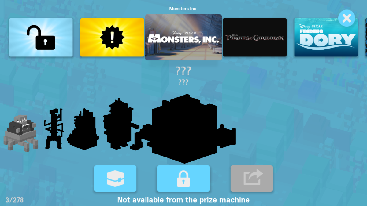 Monsters Inc Disney Crossy Road Update